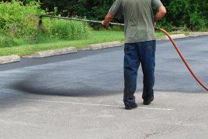 sealcoat asphalt driveway