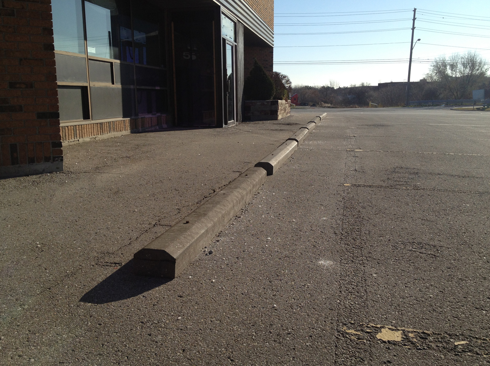 Recycle Composite Parking Curbs Gallery