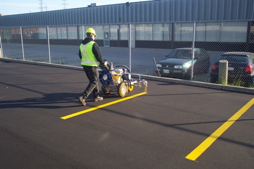 Parking Lot Marking And Maintenance Increases The Curb Appeal
