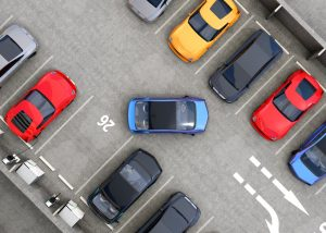 Shopping Centre Parking Lot