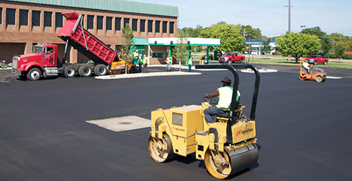 Commercial Asphalt Paving Services