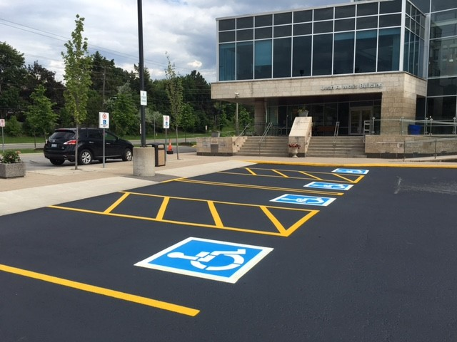 Highly Visible Pavement Markings