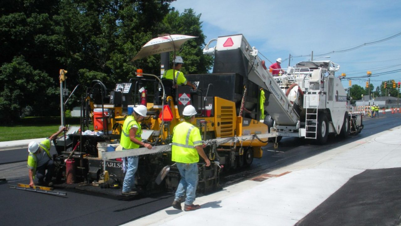 commercial paving and asphalt